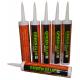 Звукоизоляционный герметик для швов Green Glue, туба 828 мл