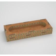 Звукоизоляционный подрозетник четырехсекц. SoundGuard IzoBox 4  350 х 130 х 48мм (2кг)